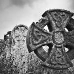 Кельтские кресты на захоронениях