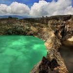 Цветные озера Келимуту. (фото из Интернета)