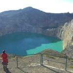 Цветные озера вулкана Келимуту, Индонезия. Атмосферное место (фото из Интернета)