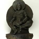 Будда из метеоритного железа