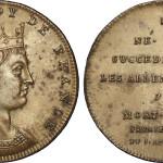 Монета с изображением Дагоберта II