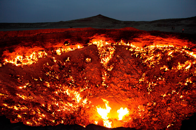 Дарваза — врата ада, дверь в преисподнюю или людская халатность?