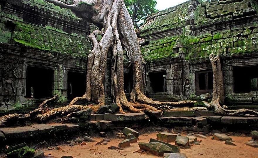 Невероятные места, которые нужно увидеть хотя бы раз в жизни. Ангкор Ват. Камбоджа.