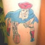 Парад фриков. Непрофессиональные и просто глупые татуировки.