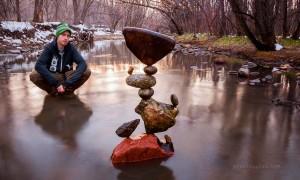 Майкл Граб - гуру уравновешивания камней