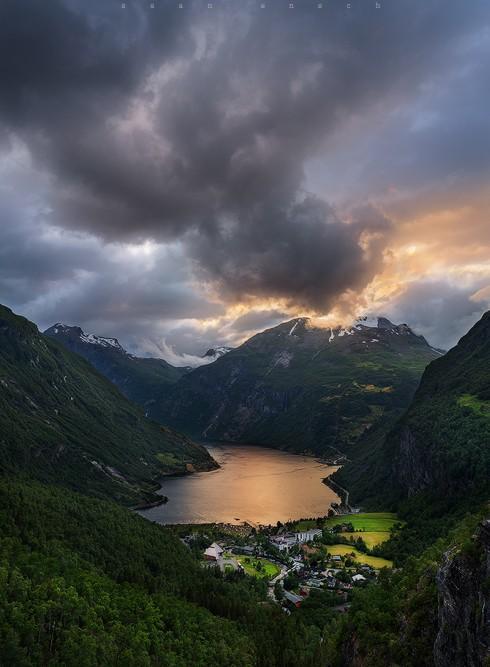 Непогода над фьордом