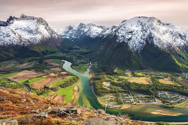 Ондолснес. Западная Норвегия