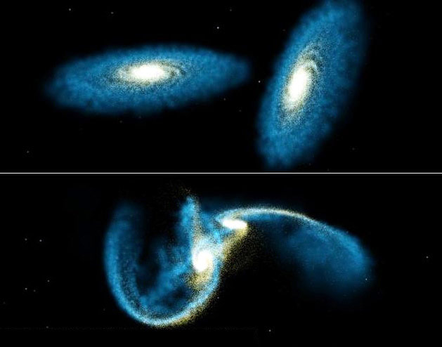 Галактический каннибализм