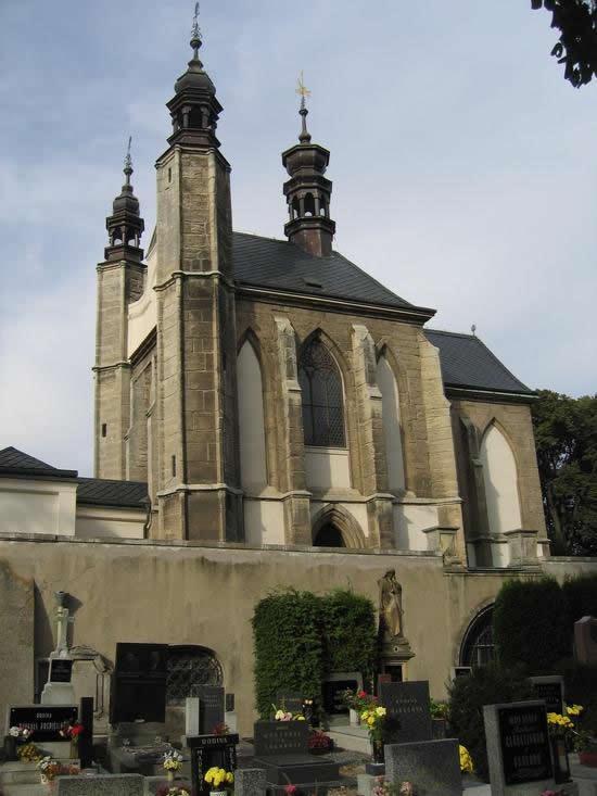 Церковь на костях. Седлец, Чехия