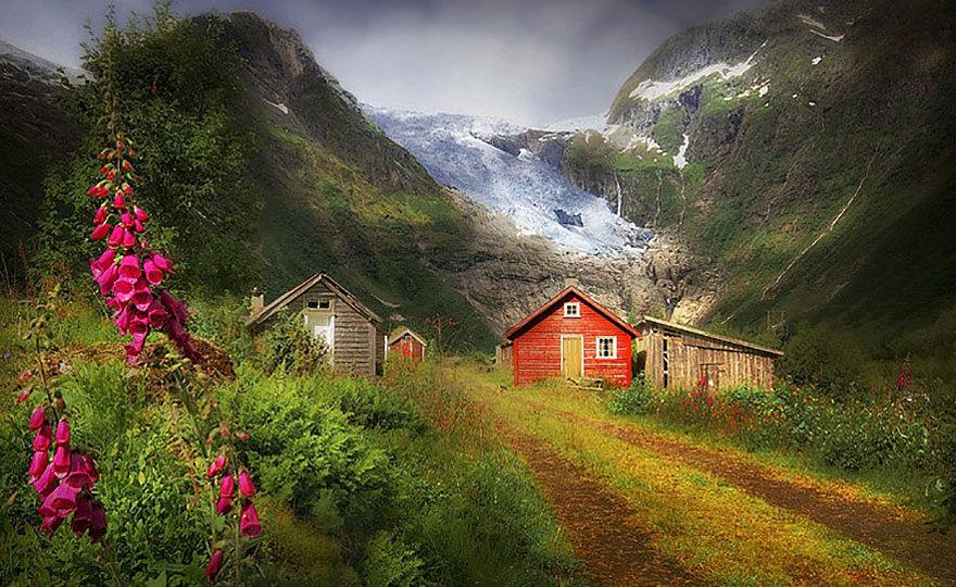 И снова красавица Норвегия!