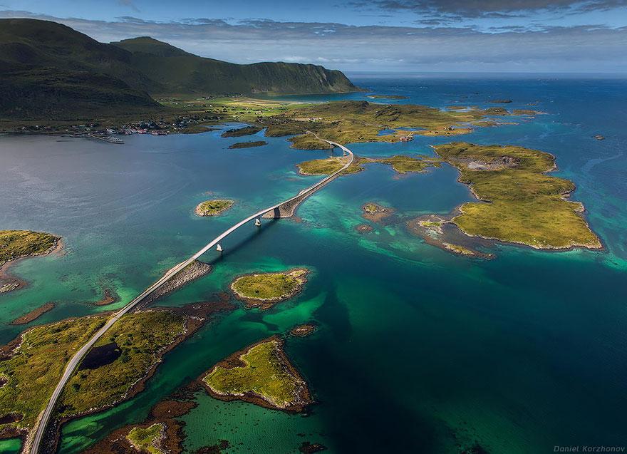 Лофотенские острова. Мосты Фредванг