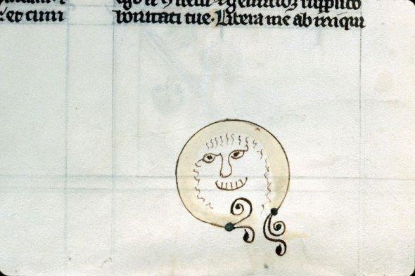 Средневековый смайлик. Conches, Библиотека