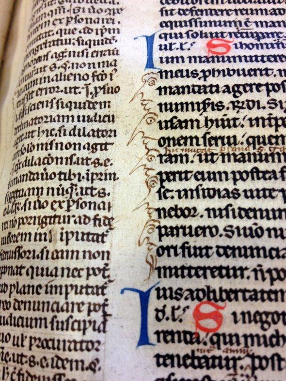 Студенты с заостренными носами. Лейден, университетская библиотека.