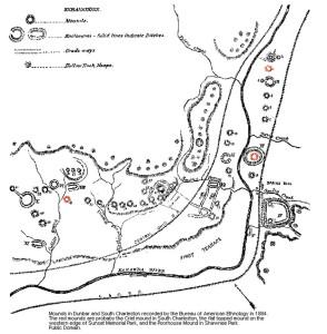 Курганы Дунбара и Южного Чарльстона