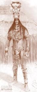 Цифровой набросок древнего гиганта из Флориды.