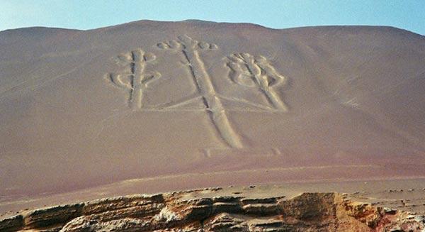 Загадочный доисторический канделябр в Паракасе