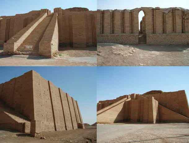 Храм - зиккурат в Уре