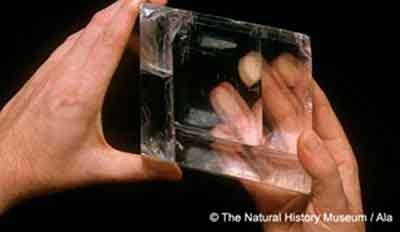 Солнечный камень как устройство для навигации
