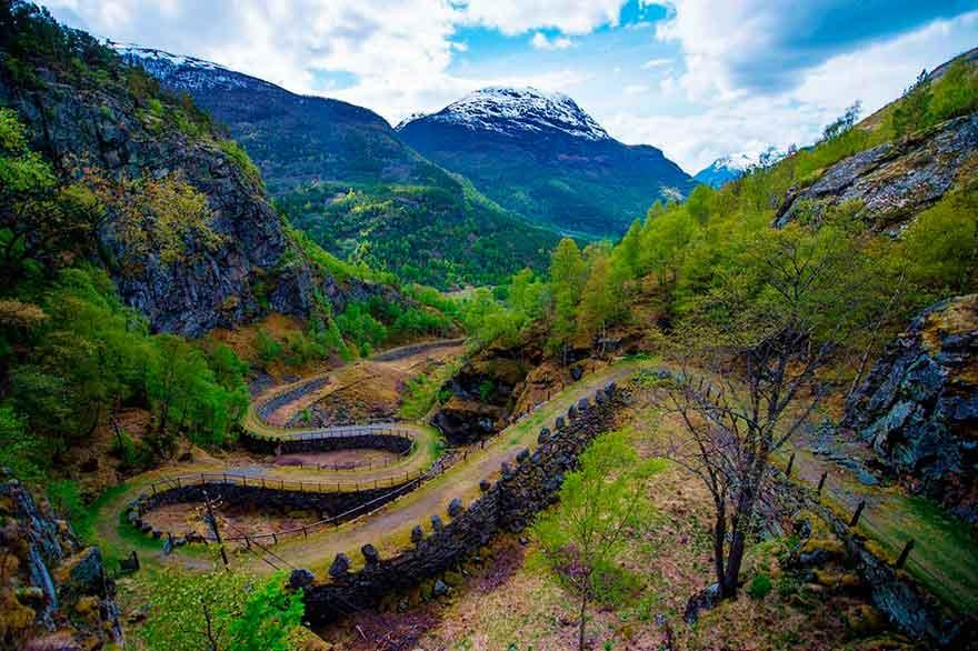 Древняя Дорога Vindhellavegen