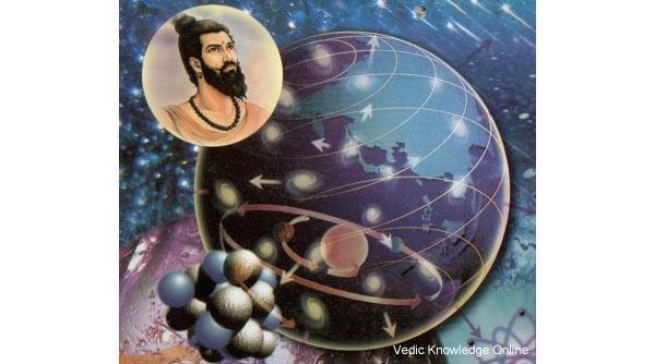 Индийский мудрец Ачарья Канада - отец атомной теории
