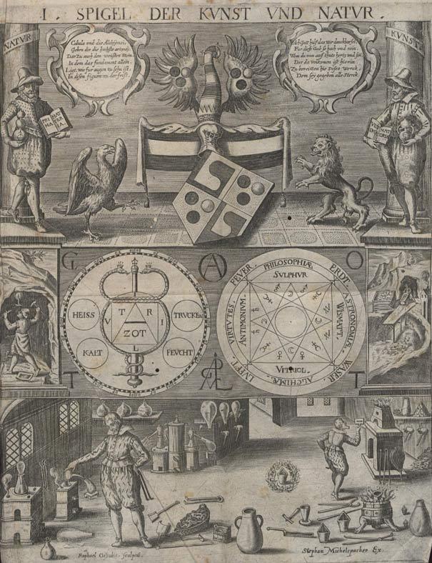 Иллюстрация из Cabala Speculum, 1654