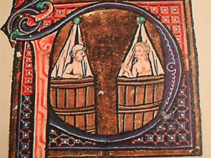 Средневековые купания (книга, примерно 1400 гг.)