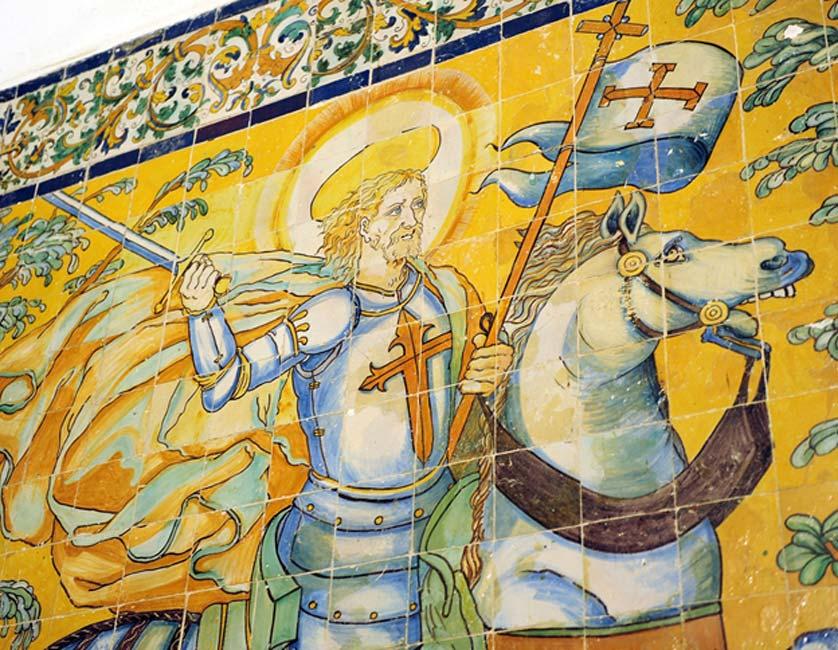 Апостол Сантьяго, монастырь Тентудия в Калера-де-Леон, Бадахос, Испания. (Joserpizarro / Adobe)