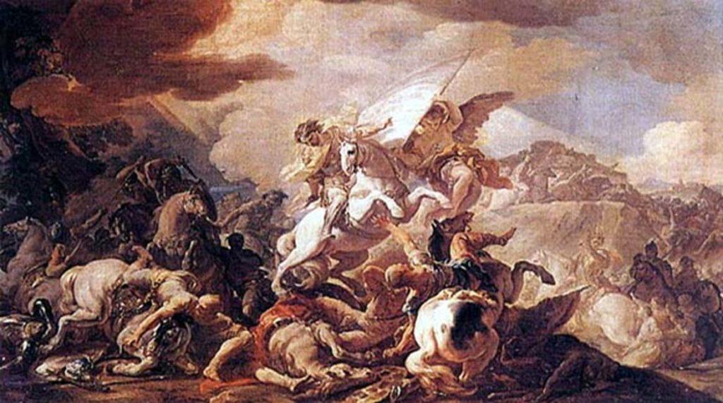 Битва при Клавихо (Коррадо Джакинто / Общественное достояние)