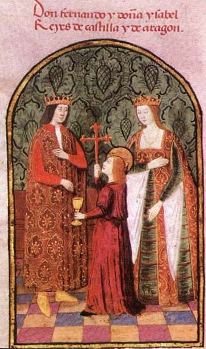 Король Фердинанд II Арагонский и королева Изабелла Кастильская. (Общественное Достояние)
