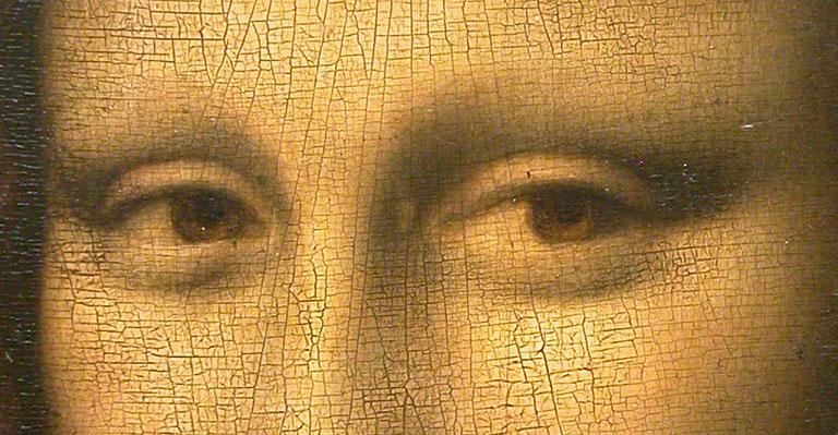Волшебный взгляд Моны Лизы - миф (Википедия)