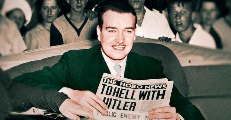 Племянник Адольфа Гитлера Уильям Патрик Гитлер (изображение с сайта thevintagenews.com)